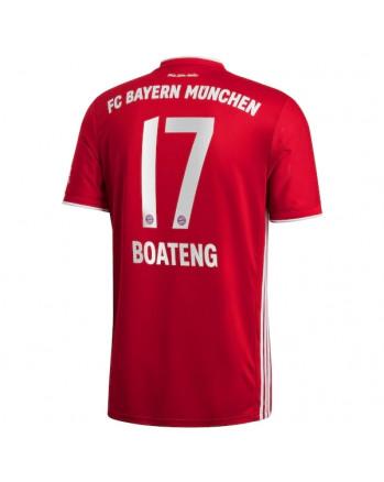 Bayern Munchen Home BOATENG Soccer Jersey 2020-21