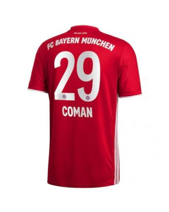 Bayern Munchen Home COMAN Soccer Jersey 2020-21