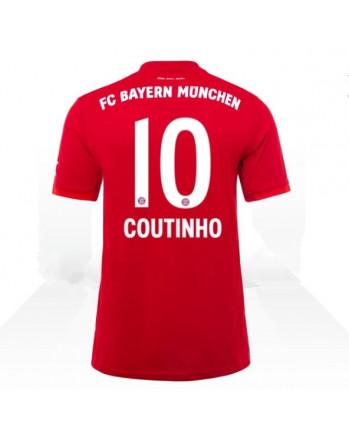 Bayern Munchen Home COUTINHO Soccer Jersey 2019-20