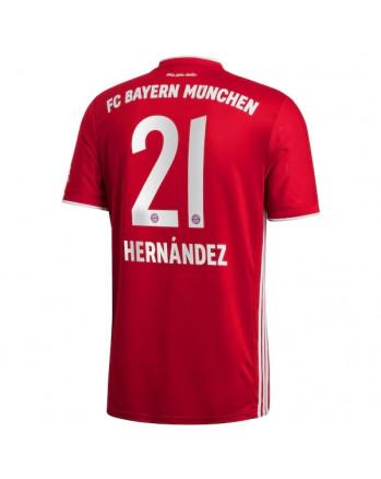 Bayern Munchen Home HERNANDEZ Soccer Jersey 2020-21