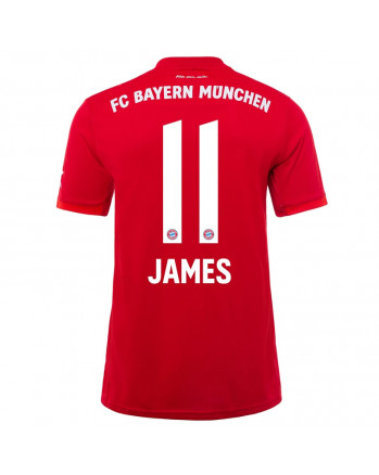 Bayern Munchen Home JAMES Soccer Jersey 2019-20