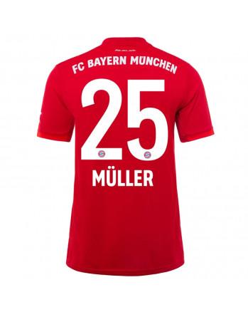 Bayern Munchen Home MULLER Soccer Jersey 2019-20
