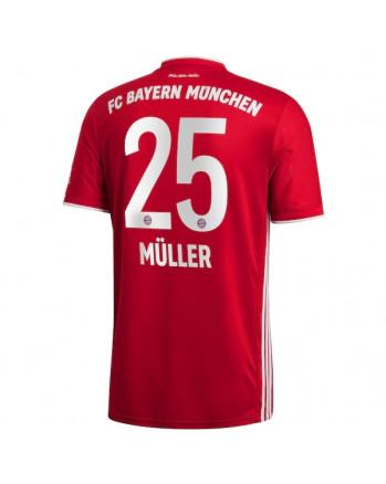 Bayern Munchen Home MULLER Soccer Jersey 2020-21