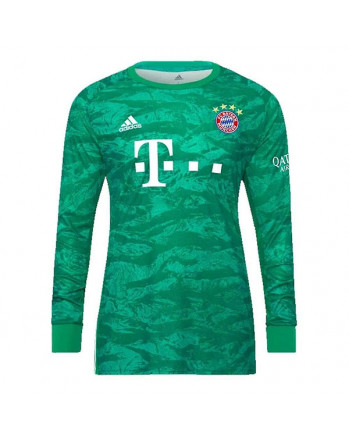 Bayern Munich Home Goalkeeper Long Sleeve Soccer Jersey 2019-20