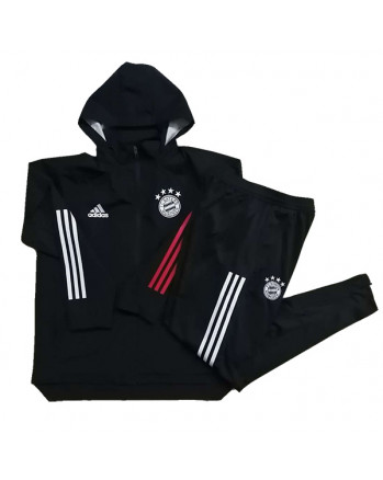Bayern Munichen Black Training Tracksuit 2020-21