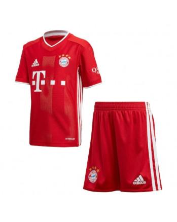 Bayern Munichen Home Kids Soccer Kit 2020-21