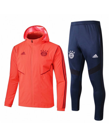 Bayern Munichen Orange Training Tracksuit 2019-20