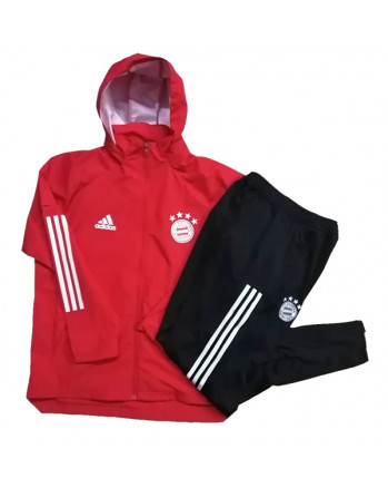 Bayern Munichen Red Training Tracksuit 2020-21