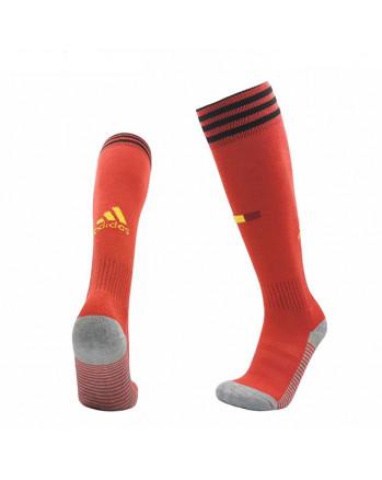 Belgium Home Soccer Socks 2020