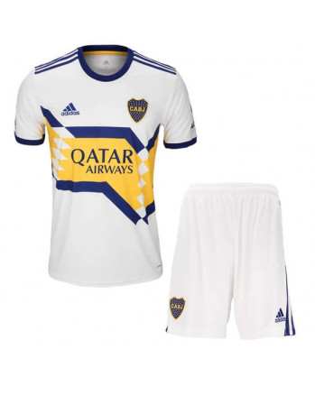Boca Juniors Away Kids Soccer Kit 2020-21