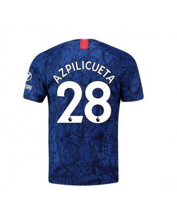 Chelsea Home Azpilicueta Soccer Jersey 2019-20