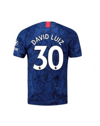 Chelsea Home David Luiz Soccer Jersey 2019-20