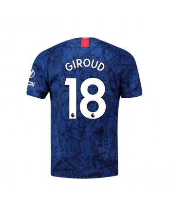 Chelsea Home Giroud Soccer Jersey 2019-20