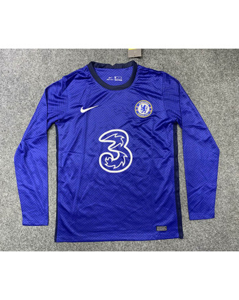 Chelsea Home Long Sleeve Soccer Jersey 2020-21