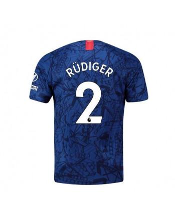 Chelsea Home Rudiger Soccer Jersey 2019-20