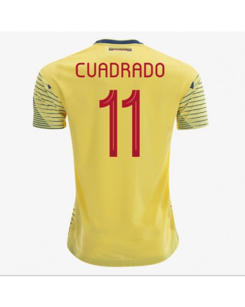 Columbia Home CUADRADO Soccer Jersey 2019-20