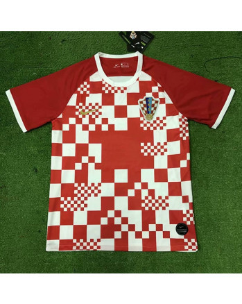 Croatia Home Soccer Jersey 2020
