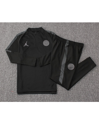 PSG Black Training Tracksuit 2018-19