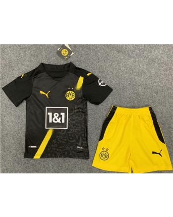 Dortmund Away Kids Soccer Kit 2020-21
