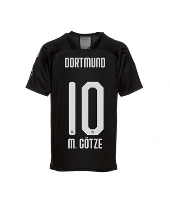 Dortmund Away M. GOTZE Soccer Jersey 2019-20