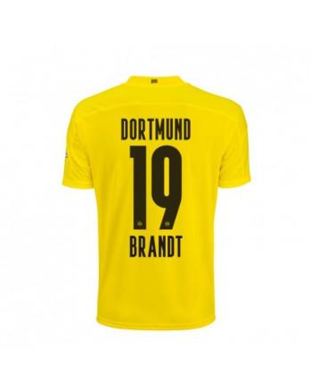 Dortmund Home BRANDT Soccer Jersey 2020-21