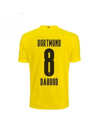 Dortmund Home DAHOUD Soccer Jersey 2020-21