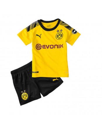 Dortmund Home Kids Soccer Kit 2019-20