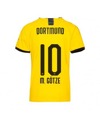 Dortmund Home M. GOTZE Soccer Jersey 2019-20