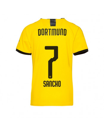 Dortmund Home SANCHO Soccer Jersey 2019-20