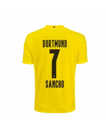 Dortmund Home SANCHO Soccer Jersey 2020-21