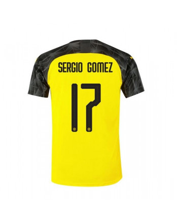 Dortmund Home SERGIO GOMEZ Soccer Jersey 2019-20
