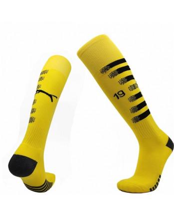 Dortmund Home Soccer Socks 2020-21