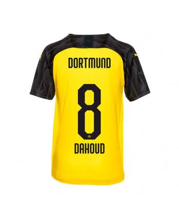 Dortmund UCL CUP DAHOUD Soccer Jersey 2019-20