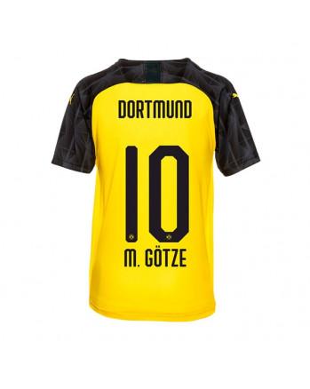 Dortmund UCL CUP M. GOTZE Soccer Jersey 2019-20