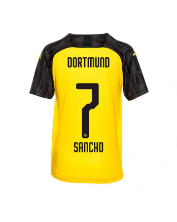 Dortmund UCL CUP SANCHO Soccer Jersey 2019-20