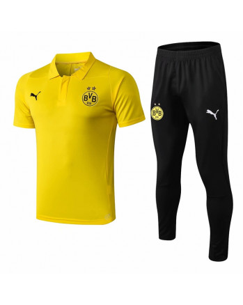 Dortmund Yellow Training Polo Suit 2019-20