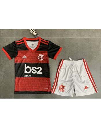 Flamengo Home Kids Soccer Kit 2020-21