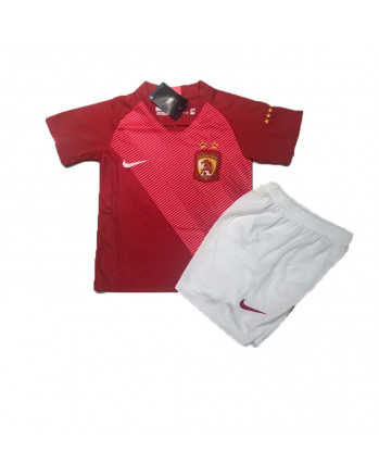 Guangzhou Evergrande Home Kids Soccer Kit 2019-20