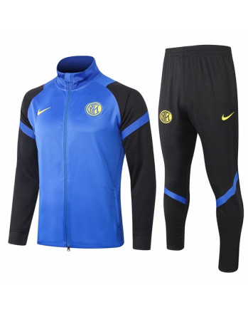 Inter Black&Blue Training Tracksuit 2020-21