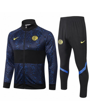 Inter Black&Navy Training Tracksuit 2020-21