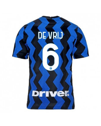 Inter Home DE VRIJ Soccer Jersey 2020-21