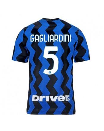 Inter Home GAGLIARDINI Soccer Jersey 2020-21