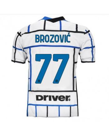 Inter Away BROZOVIC Soccer Jersey 2020-21