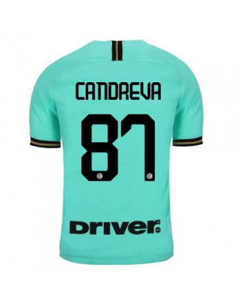 Inter Away CANDREVA Soccer Jersey 2019-20