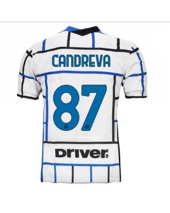 Inter Away CANDREVA Soccer Jersey 2020-21