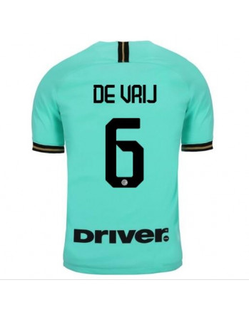 Inter Away DE VRIJ Soccer Jersey 2019-20