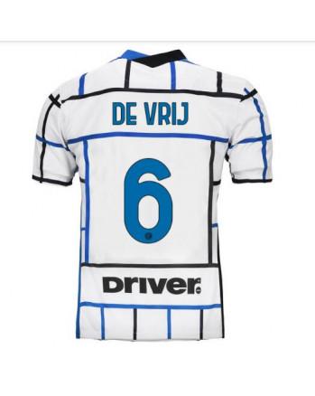 Inter Away DE VRIJ Soccer Jersey 2020-21