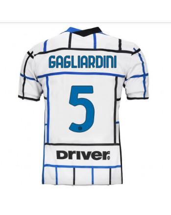 Inter Away GAGLIARDINI Soccer Jersey 2020-21