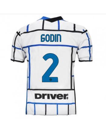 Inter Away GODIN Soccer Jersey 2020-21