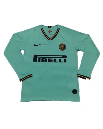 Inter Milan Away Long Sleeve Soccer Jersey 2019-20